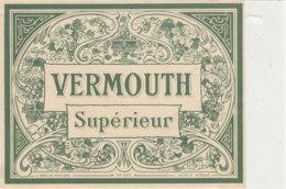 AN 671 / ETIQUETTE     VERMOUTH  SUPERIEUR    N° 515 - Labels