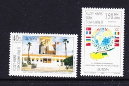 Europa Cept 1998 Northern Cyprus 2v ** Mnh (45220A) - Europa-CEPT
