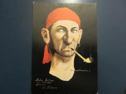 Carte Postale Les Corsaires Etienne Blandin André Sallier Dit P'tit Salé - Andere Zeichner