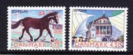 Europa Cept 1998 Denmark 2v  ** Mnh (45220G) - Europa-CEPT
