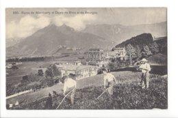 22767 -Gruyères Bains De Montbarry Et Dents De Broc Et De Bourgoz Les Faucheurs - FR Fribourg