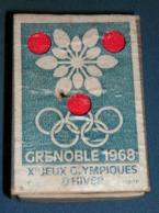 Boite D'allumettes : Divers : J O Grenoble 1968 - Boites D'allumettes - Etiquettes