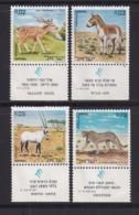 ISRAEL, 1971, Unused Stamp(s), With Tab, Animals Nature Reserve, SG471-474, Scannr. 17644 - Israël