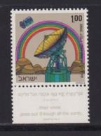 ISRAEL, 1972, Unused Stamp(s), With Tab, Satelite Edith Station, SG534, Scannr. 17661 - Israël