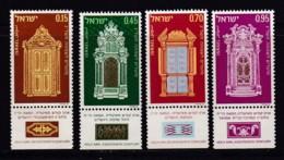 ISRAEL, 1972, Unused Stamp(s), With Tab, New Year - Holy Arks SG535-538, Scannr. 17662 - Israël