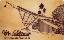 Mr. California - USA - Hotel Room Key Card, Hotelkarte, Schlüsselkarte, Clé De L'Hôtel - Hotelkarten