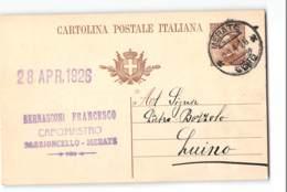 17631 BERNASCONI CAPOMASTRO SABBIONCELLO MERATE X LUINO - 1900-44 Victor Emmanuel III