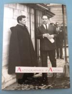 François MITTERRAND Ancien Président De La République - Lieu à Identifier - Parti Socialiste - Photo Presse AGIP - Reproducciones