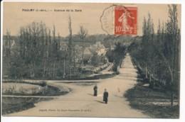 CPA 37 PAULMY Carte Rare Avenue De La Gare - France