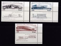 ISRAEL, 1974, Unused Stamp(s), With Tab, Architects In Israel, SG578-580, Scannr. 17673 - Israël