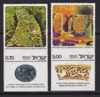 ISRAEL, 1976, Unused Stamp(s), With Tab, Archaeology In Jerusalem, SG648-649, Scannr. 17695 - Israël