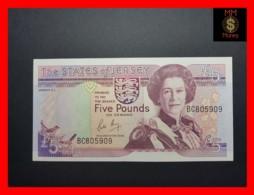 JERSEY 5 £ 1989  P. 16  UNC - Jersey