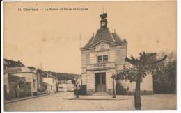 CPA 78 CHEVREUSE Carte Rare La Mairie Et Place De Luynes - Chevreuse