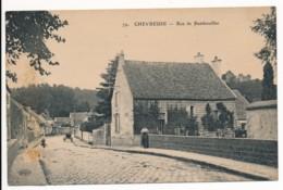 CPA 78 CHEVREUSE Rue De Rambouillet - Belle Carte - Chevreuse