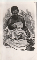 *** OUGANDA UGANDA ***  Baganda Mother  TTB Suprbe Timbrage -petit Pli Carte -- - Uganda