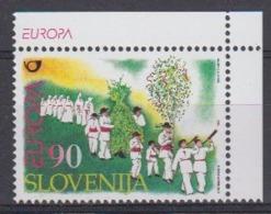 Europa Cept 1998 Slovenia 1v (corner With Europa In Margin) ** Mnh (45220P) - Europa-CEPT