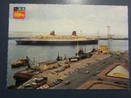 Carte Postale Paquebot FRANCE Quittant Le Havre - Piroscafi