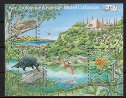 """Nle-Caledonie Bloc YT F1161 Feuille """" Parc Zoologique """" 2012 Neuf** - Neufs"""