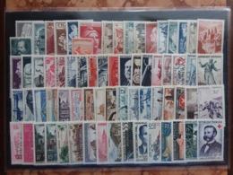 FRANCIA 1935/58 - Lotto 69 Francobolli Differenti Nuovi ** + Spese Postali - Ungebraucht