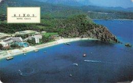 RIXOS Hotel Tekirova,Turkey - Hotel Room Key Card, Hotelkarte, Schlüsselkarte, Clé De L'Hôtel - Hotelkarten