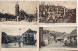 LOT 17 CPA - DÉPARTEMENT DU HAUT-RHIN - Francia