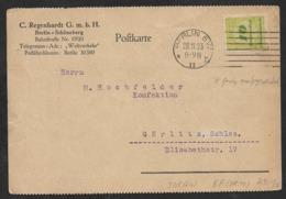 9. 1923 - DEUTSCHES REICH - INFLA POSTKARTE - EF - 10Mrd Mi. 328 N. GÖRLITZ - Deutschland