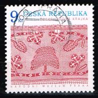 Tschechien 2003,Michel# 352 O Crafts: A Bobbin Lace - Czech Republic