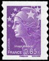 France Marianne De Beaujard Autoadhésif N°  213 ** Au Modèle 4233 - Le 0.85 Eur. Violet - 2008-13 Marianne (Beaujard)