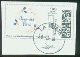 Joyeuses Fêtes 2 Vignette Illustrée - 2010-... Illustrated Franking Labels