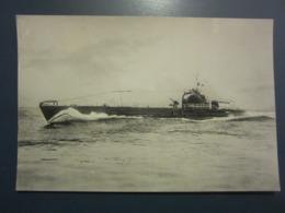 Carte Postale Sous-marin De 2ème Classe Cérès - Unterseeboote