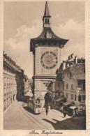 BERN → Zeitglockenturm Mit Tram Und Passanten, Kupferdruck Ca.1915 - BE Berne