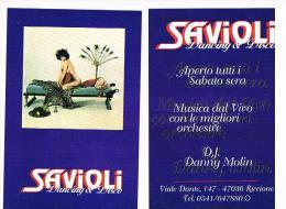 DISCOTECA SAVIOLI , RICCIONE  (FO):  -  RIF. 3806 - Música Y Músicos