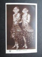 CP ACTEURS / ACTRICES (V1806) THE DELLY TWINS (2 Vues) J.R.P.R. PARIS N°196 Année 20/30 Travesti ? - Acteurs