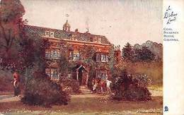 """A Dickens Land, Charles Dicken's House, Gadshill """"Oilette"""" Higham - Angleterre"""