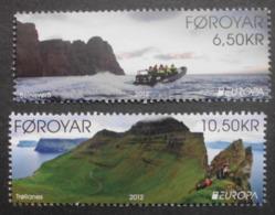 Färöer    Europa  Cept    Besuchen Sie Europa  2012  ** - Europa-CEPT