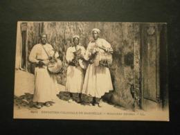 13 Exposition Coloniale De Marseille, Musiciens Nègres (10133) - Colonial Exhibitions 1906 - 1922