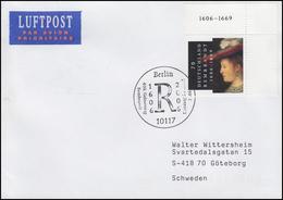 2550 Rembrandt Maler & Saskia Von Uylenburgh, FDC ESt Berlin 13.7.2006 - BRD