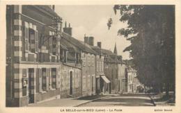 CPA 45 Loiret La Selle Sur Le Bied La Poste - France