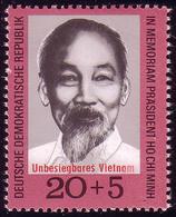 1602 Vietnam Ho Chi Minh 20+5 Pf ** - DDR