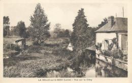 CPA 45 Loiret La Selle Sur Le Bied Vue Sur La Cléry Lavoir - France