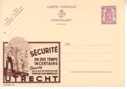 Publibel Neuf 422 - Stamped Stationery