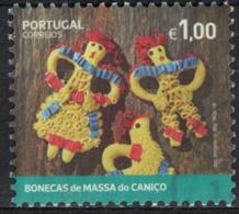 Portugal 2018 Oblitéré Used Bonecas De Massa Do Caniço Madeira Poupées En Pâte à Biscuits Du Caniço Madère SU - Madère