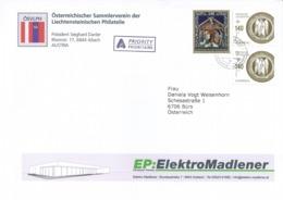 [A4] Weihnacht Vaduz - Illustriertes Kuvert - Liechtenstein