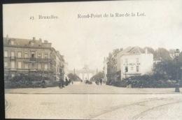 (1802) Bruxelles - Rond-Point De La Rue De La Loi - Chocolat Martougin Le Meilleur ! - Avenues, Boulevards