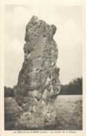 CPA 45 Loiret La Selle Sur Le Bied Le Menhir De La Chaise - France