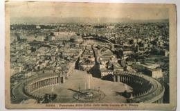 V 10765 Roma - Panorama Della Città Dalla Cupola Di S. Pietro - San Pietro
