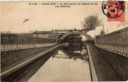 CPA PARIS (19e) Le Pont-Levant Du Chemin De Fer Aux Abattoirs. (561100) - District 19