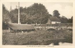 CPA 45 Loiret La Selle Sur Le Bied L'Abreuvoir Lavoir - France