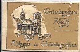 Carnet Met 12 Kaarten Kompleet - Grimbergen Abdij. - Grimbergen