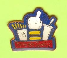 Pin's Mac Do McDonald's Taste Of Quality Trio - 2V05 - McDonald's